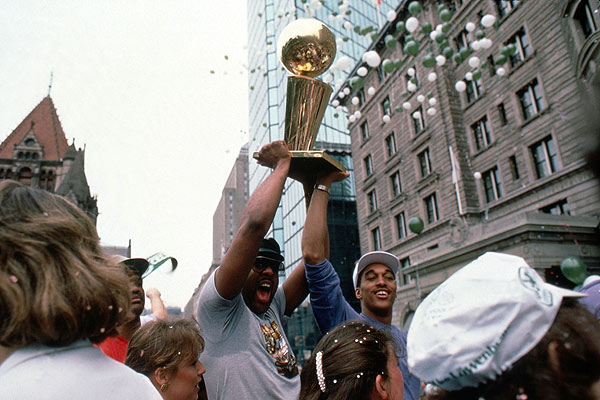 nba champs parade