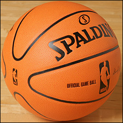 another view of the new NBA ball